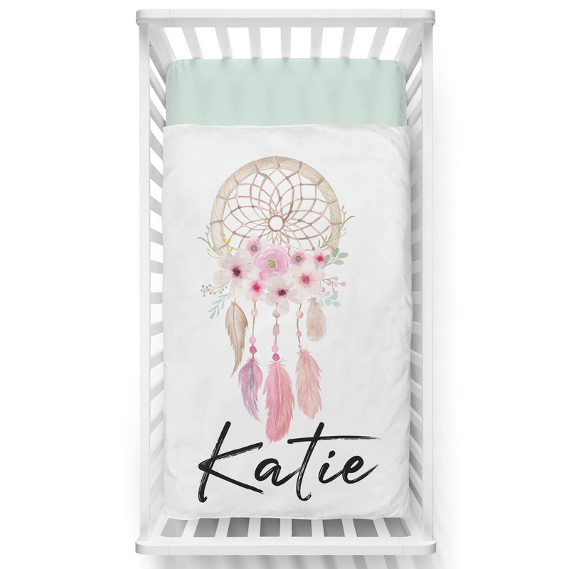Sweet Dreams Personalized Minky Blanket - BitsyBon