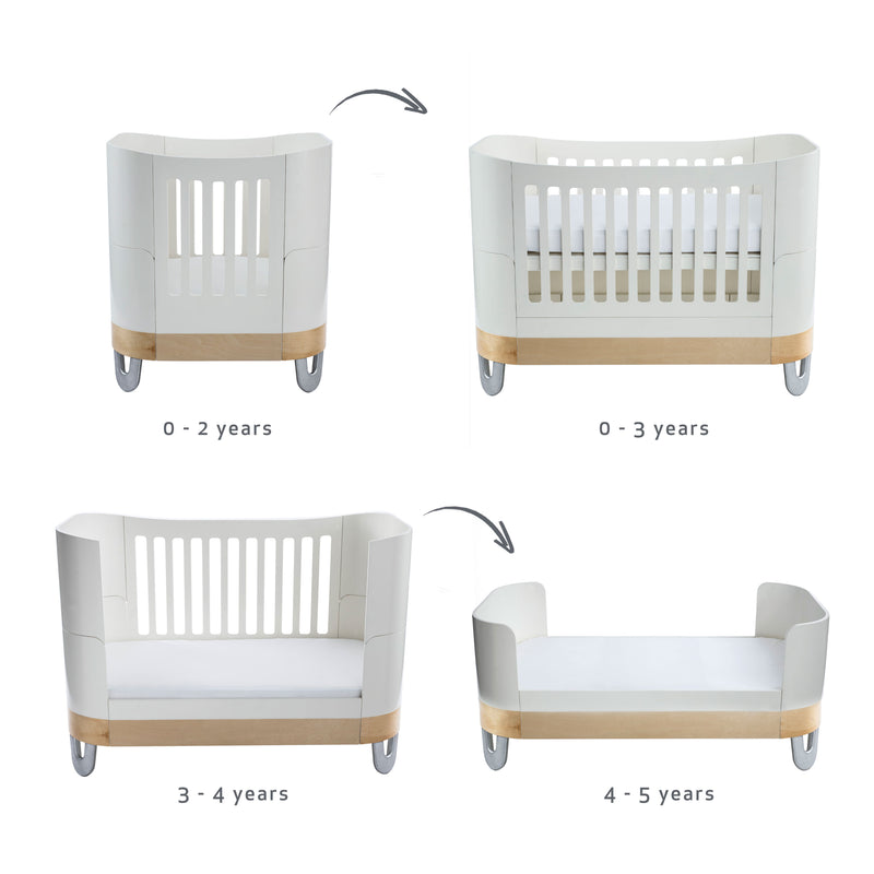 Serena Complete Sleep+/ Mini<br>White / Natural