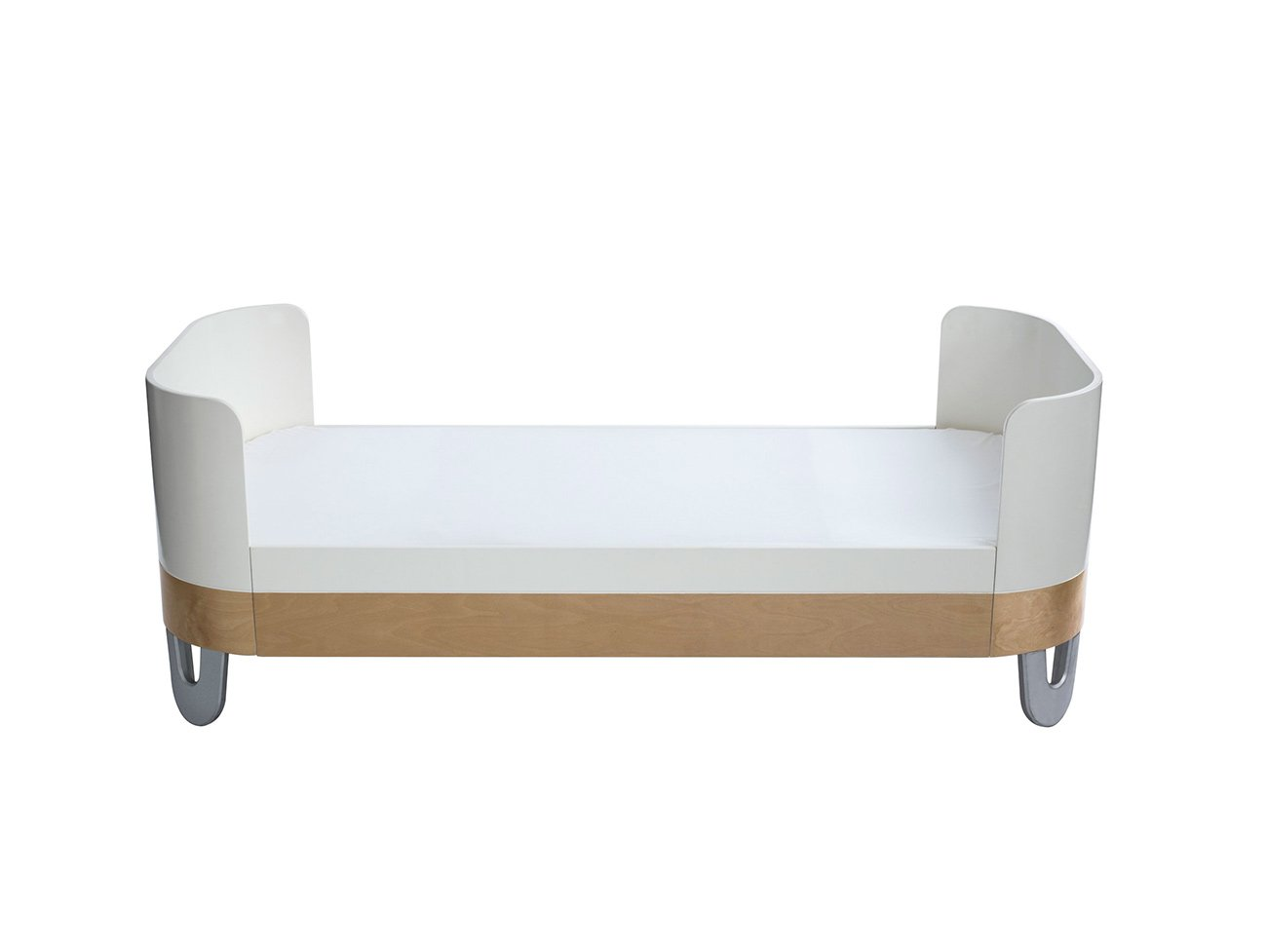 Serena Junior Bed Extension - White Natural
