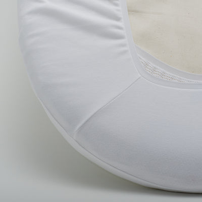 Organic Cotton Fitted Sheet for Mini Cot