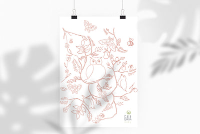 Gaia Baby Décor <br> Printable Wall Art Download