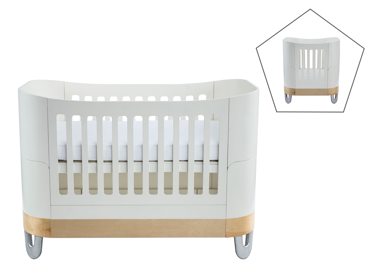 Gaia Serena Complete Sleep+/ Mini - White/Natural
