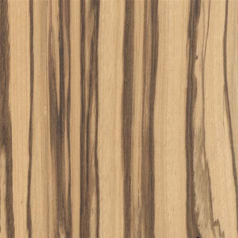 zebrawood sample swatch