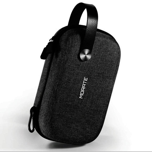 MORATE Cable storage box Gadget Organizer Tech Bag  Small Electronic Accessories Carrying Bag for Cables Adapter Mouse Charger Powerbank USB Medory