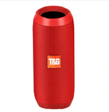 Bluetooth Speaker 10W Portable Wireless Stereo Column Fabric Outdoor Waterproof Speakers Support TF card FM Radio USB