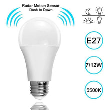 Load image into Gallery viewer, Sensor Radar Light Bulb
