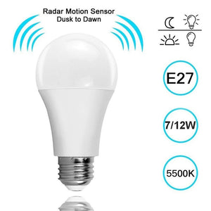 Sensor Radar Light Bulb