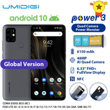 Load image into Gallery viewer, UMIDIGI Power 3  Moblie Phone Android 10 Smartphone