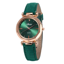 Load image into Gallery viewer, Women Leather Casual Watch