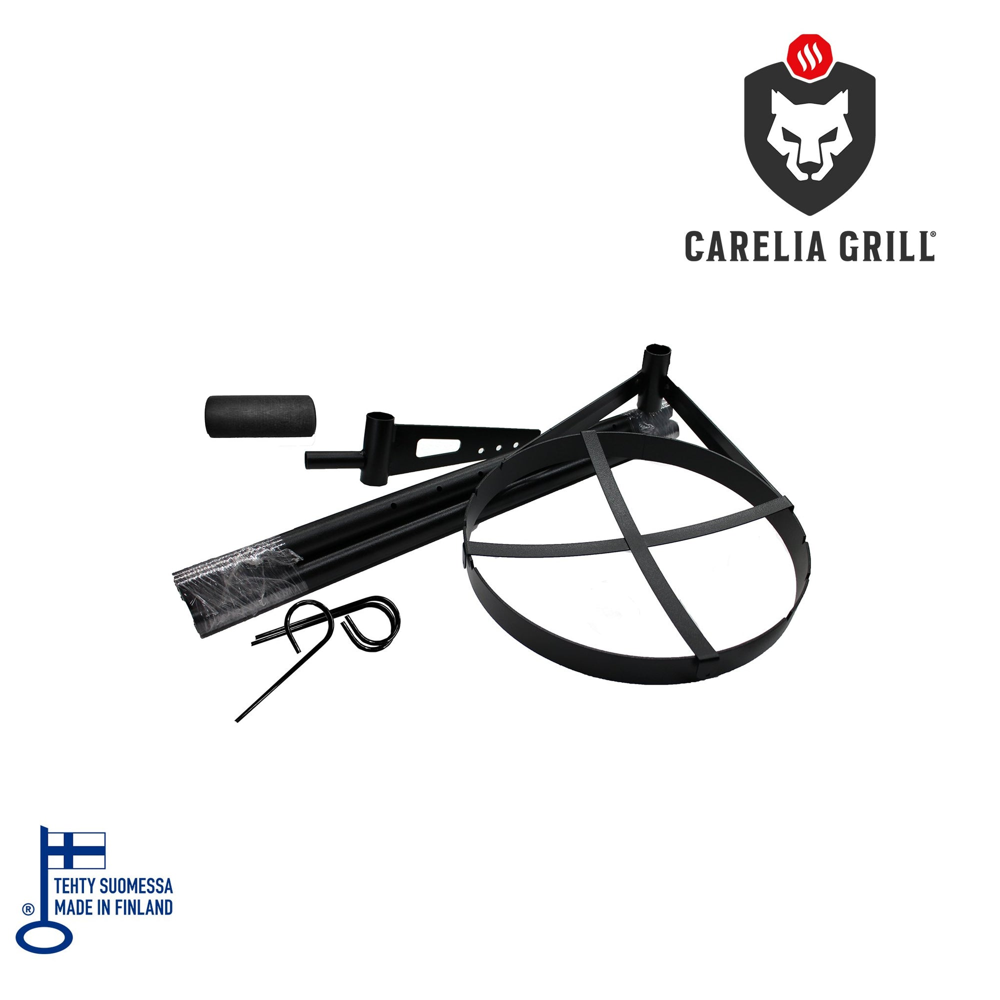 CARELIA GRILL® 9K SKILLET PIPE AND SKILLET
