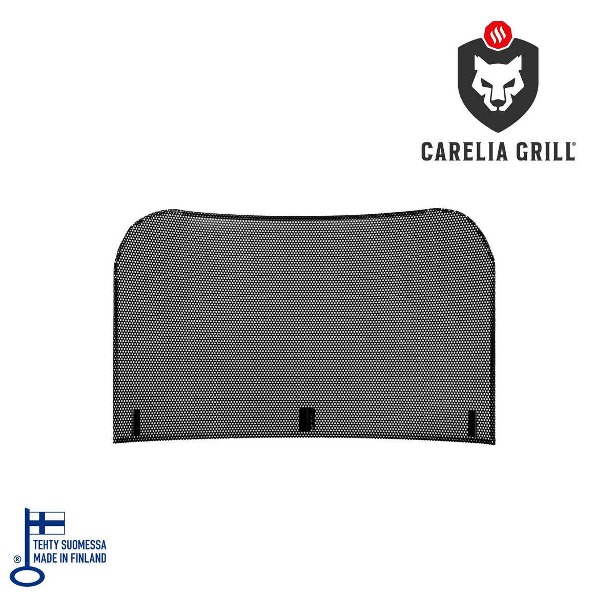 CARELIA GRILL® WIND AND SPARKLE SHIELD FOR ROUND MODELS