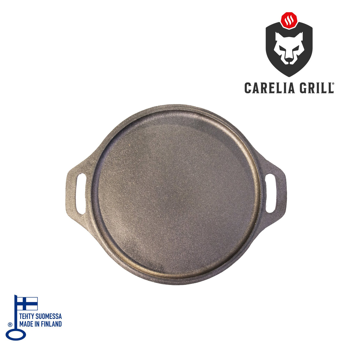 CARELIA GRILL® PAN MADE OF CAST IRON