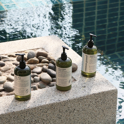 Organic Shampoo and Conditioner with Body Wash