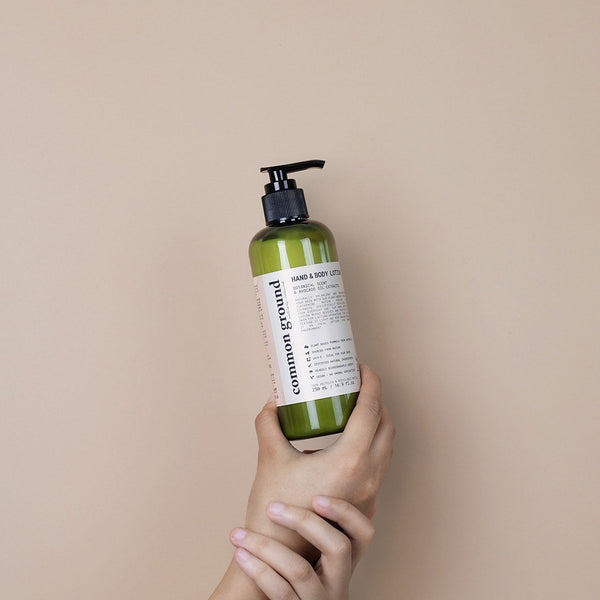 Common Ground Organic Hand and Body Lotion - Organics Buddy