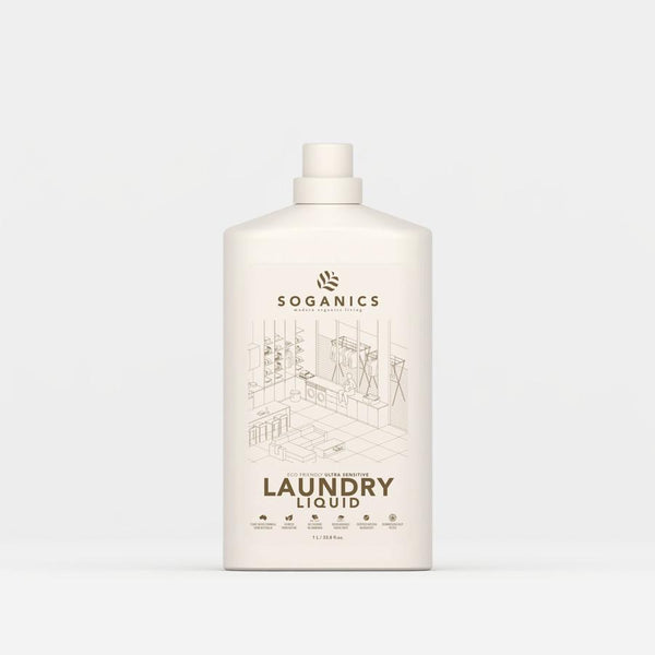Soganics Eco-Friendly Laundry Detergent Liquid - Organics Buddy