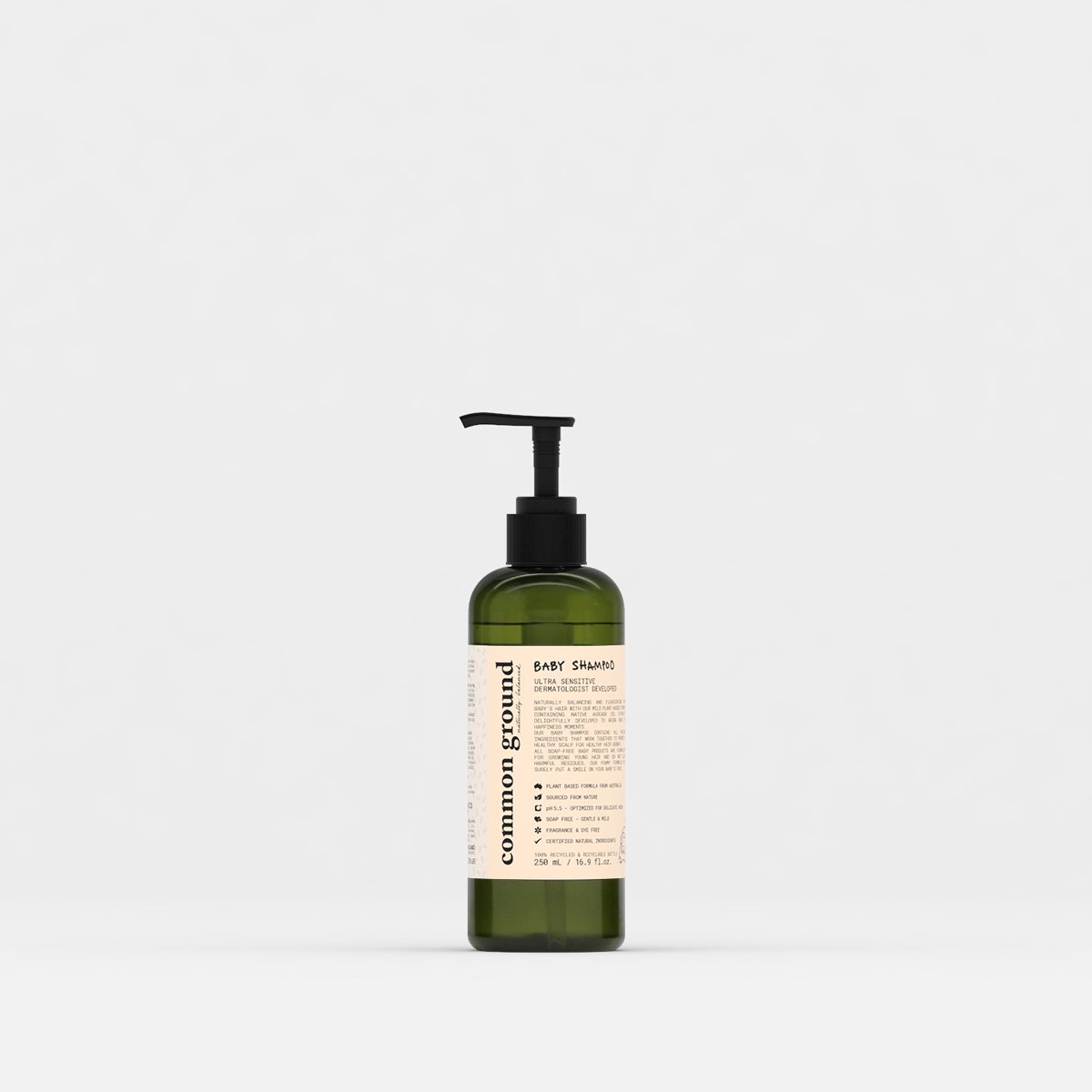Common Ground Organic Baby Shampoo - Organics Buddy