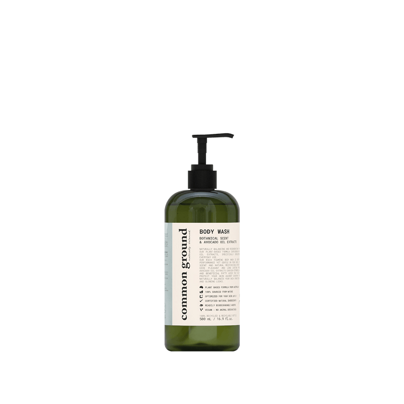Common Ground Organic Body Wash - Organics Buddy