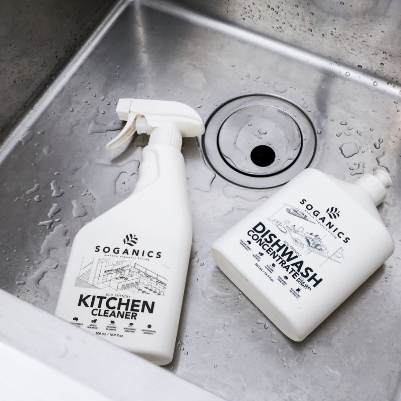 Soganics Eco-Friendly Natural Kitchen Cleaner - Organics Buddy