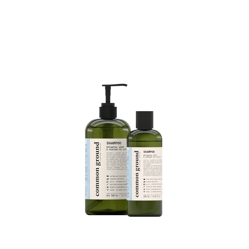 Common Ground Organic Shampoo - Organics Buddy