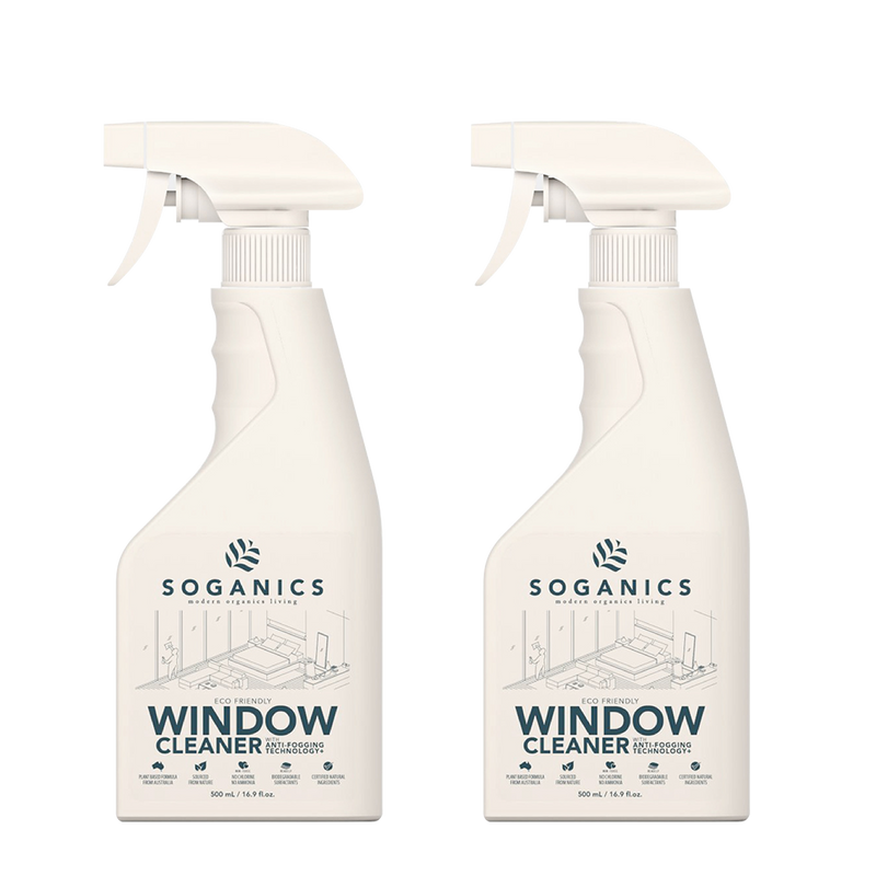 Soganics Eco-Friendly Natural Window & Surface Cleaner - Organics Buddy