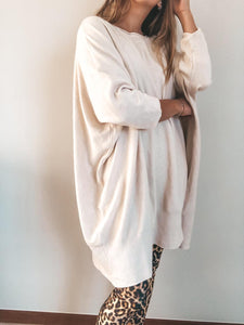 Sweater Oversize White