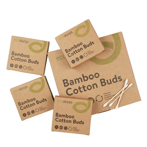 Bamboo Cotton Buds - EcoSlurps Store