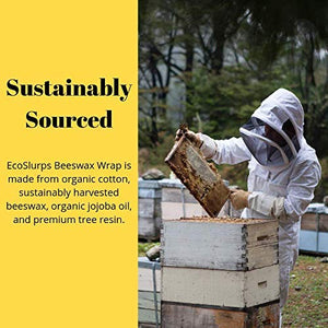 Beeswax Food Sandwich Wrap & Rolls - EcoSlurps Store