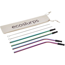 Load image into Gallery viewer, Reusable Drinking Straws With Silicone Tips And Carry Case - EcoSlurps Store