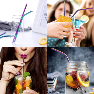 Reusable Drinking Straws With Silicone Tips And Carry Case - EcoSlurps Store