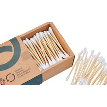 Load image into Gallery viewer, Bamboo Cotton Buds (Box Of 500) - EcoSlurps Store