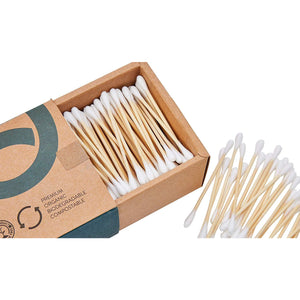 Bamboo Cotton Buds (Box Of 500) - EcoSlurps Store