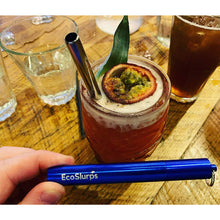 Load image into Gallery viewer, Reusable Collapsible 'Night Out' Straw - EcoSlurps Store