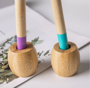 Bamboo Toothbrush Holder - EcoSlurps Store