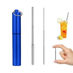 Reusable Collapsible 'Night Out' Straw - EcoSlurps Store