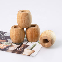 Load image into Gallery viewer, Bamboo Toothbrush Holder - EcoSlurps Store