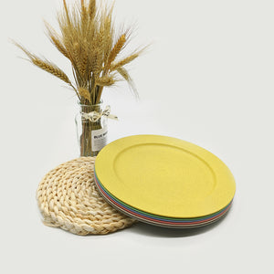 Dinner Plates Made From Recycled Wheat Straw - EcoSlurps Store