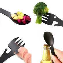 Load image into Gallery viewer, Spork With Carry Clip & Wheat Straw Carry Case - EcoSlurps Store