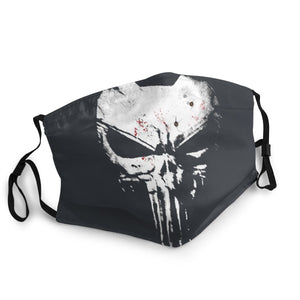 The Punisher Skull Face Mask