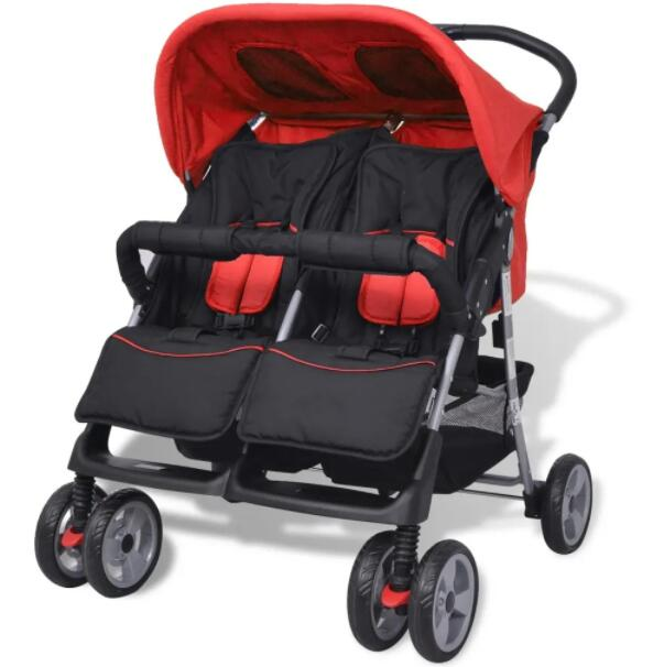 Portable Stroller Twins Baby Stroller Ultra-Light