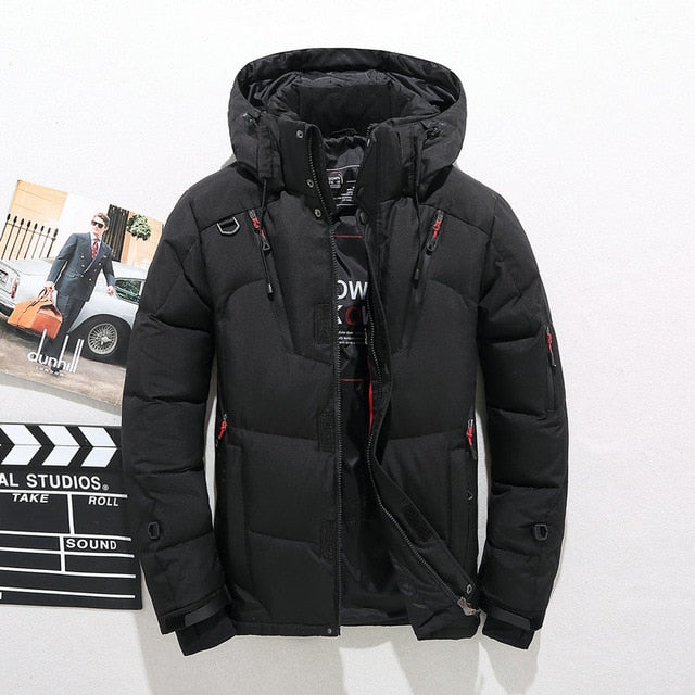 Mens Thick Warm Winter Jacket