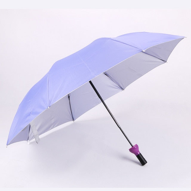 New Creative Women Wine Bottle Umbrella