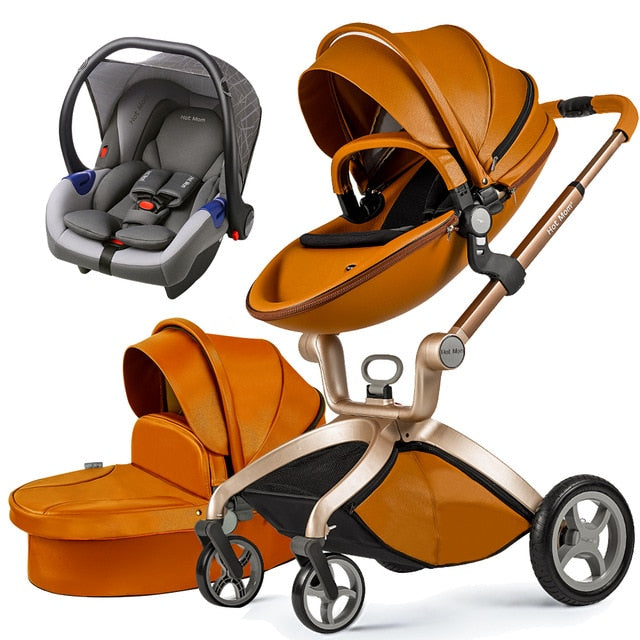 Hot Mom Baby Stroller 3 in 1 travel system High f22