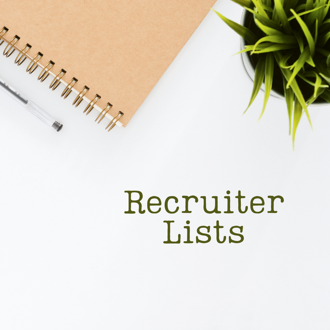 Recruiter Lists