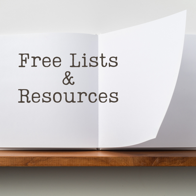 Free Lists & Resources