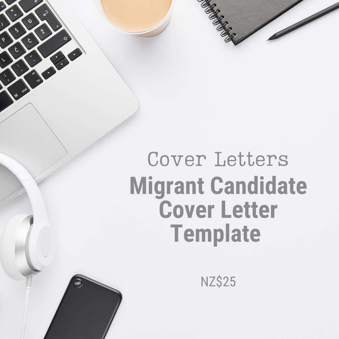 Cover Letter Template | Migrant Candidate