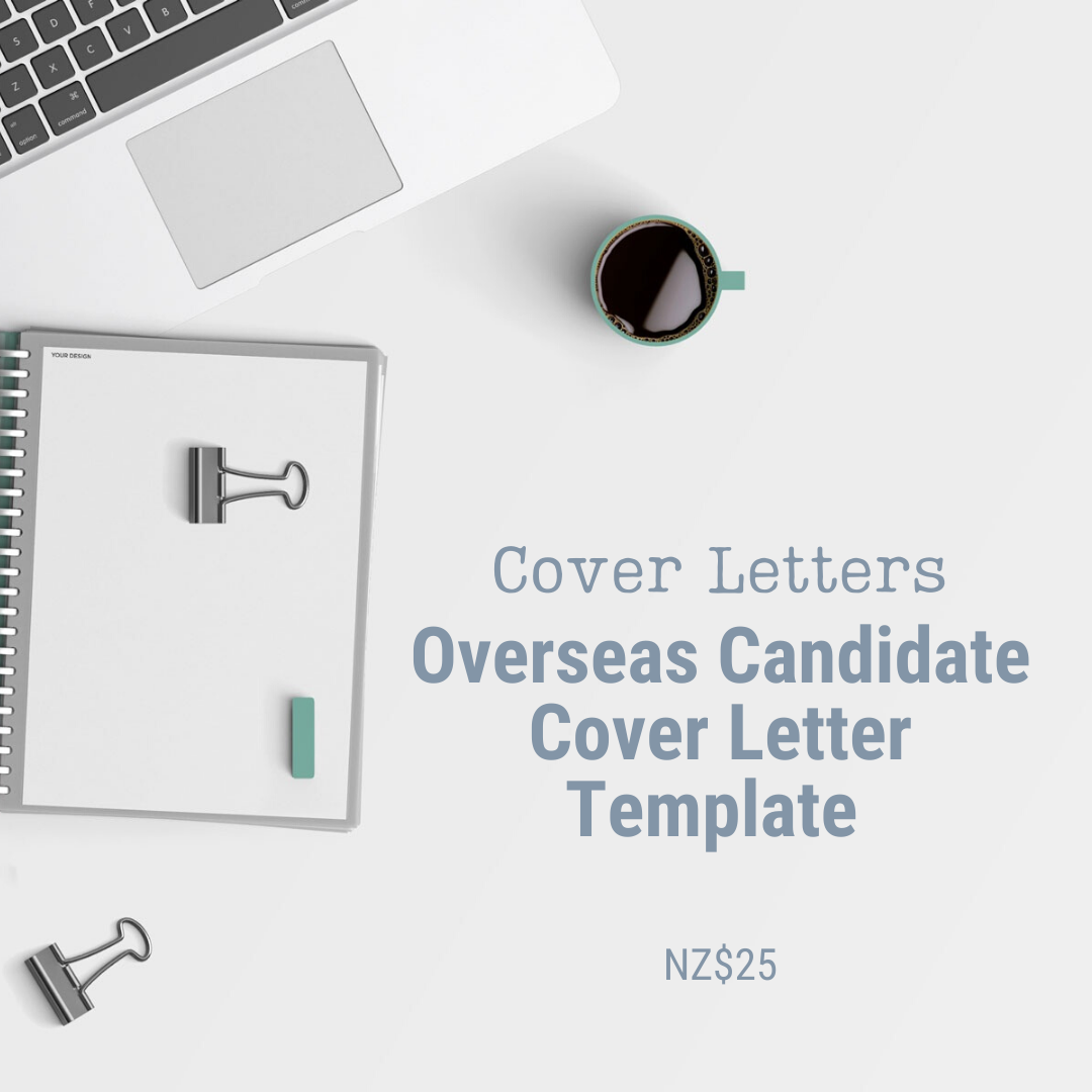 Cover Letter Template | Overseas Candidate