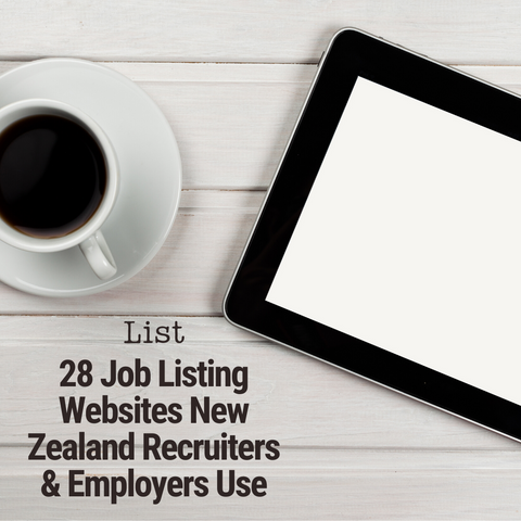 Lists | 28 Job Listing Websites New Zealand Recruiters & Employers Use