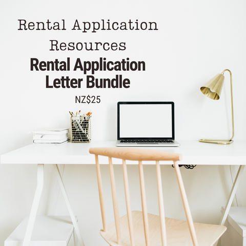 Rental Application Letter Bundle | Templates & Letter Examples