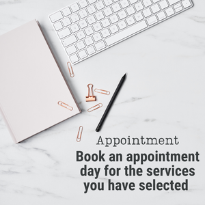 Appointment Booking for Services Selected