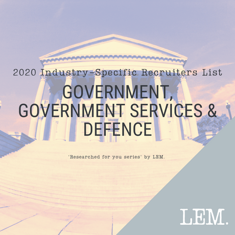 Government, Government Services & Defence | 2020 NZ Industry-Specific Recruiters List | 22 Recruiters
